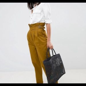 ASOS Paper Bag Trouser